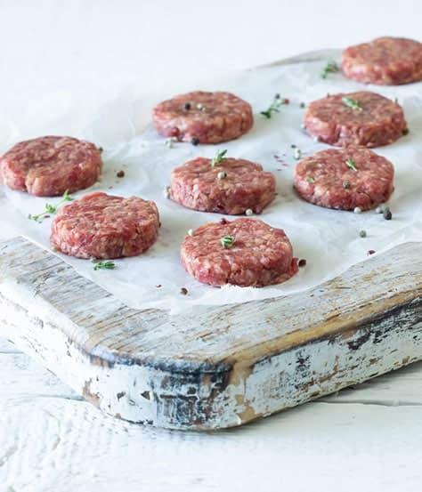 Mini Hamburger Köftesi